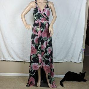 NWT Fashion Nova Wrap Maxi Dress